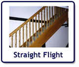 stairs: straight flight
