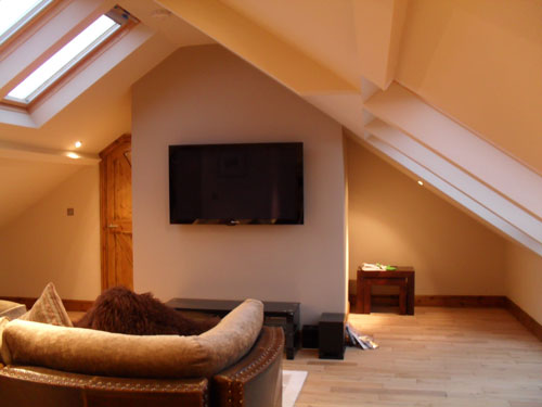 example of a finished loft conversion