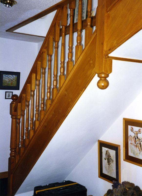 Bambridge Loft Conversions Straight Flight Stairs